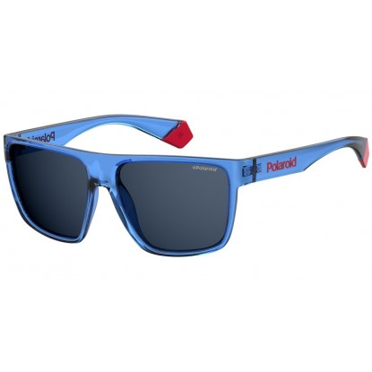 Polaroid 6076/S blue sunglasses