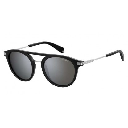 Polaroid 2061/S black silver sunglasses