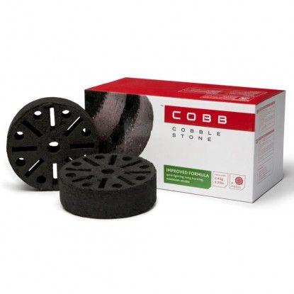 Presuotos kokoso riešutų kiautų anglies tabletės Cobb Coblestones 6 vnt