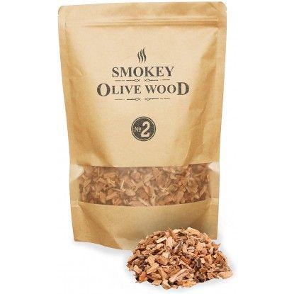 Medžio drožlės Smokey Olive Wood 1.7L migdolas