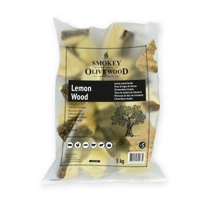 Medžio gabaliukai Smokey Olive Wood 1.5kg citrinmedžio
