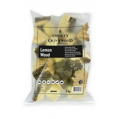 Smokey Olive Wood 1.5kg Raw Chunks Lemon