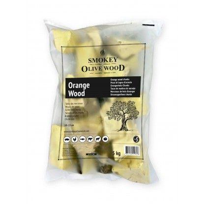 Medžio gabaliukai Smokey Olive Wood 1.5kg apelsinmedis
