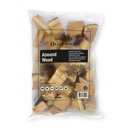 Medžio gabaliukai Smokey Olive Wood 1.5kg migdolas
