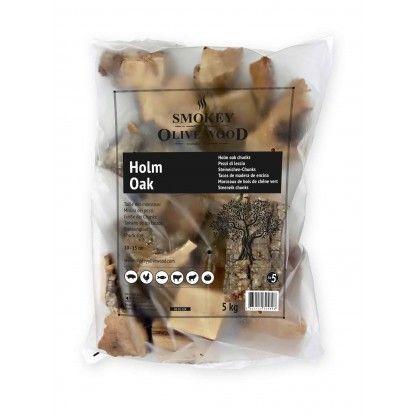 Medžio gabaliukai Smokey Olive Wood 1.5kg Holmo ąžuolas