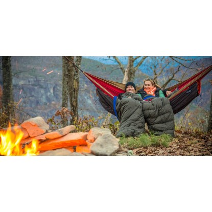 Eno Spark TopQuilt sleeping...