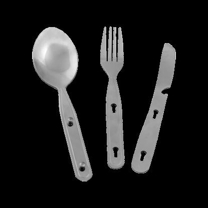 Įrankiai Rockland Travel Tools Cutlery Set