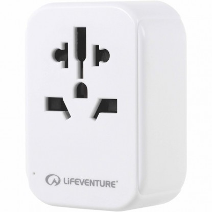 Elektros lizdų adapteris Lifeventure USB EUROPE