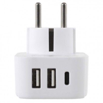 Elektros lizdų adapteris...