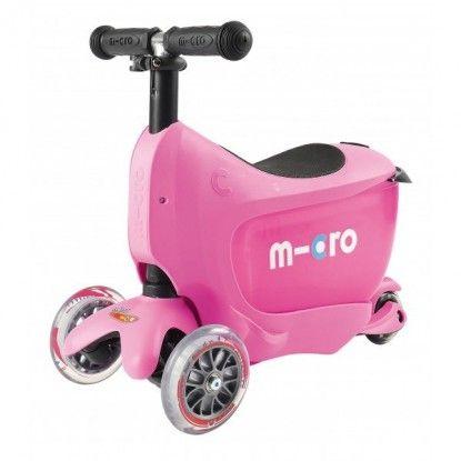 Paspirtukas Micro Mini2go Deluxe Plus Pink