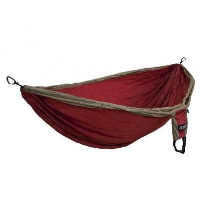Eno Double Nest hammock khaki/maroon