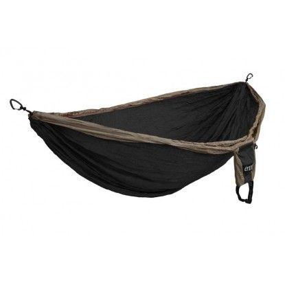 Dvigulis hamakas Eno Double Nest khaki/black