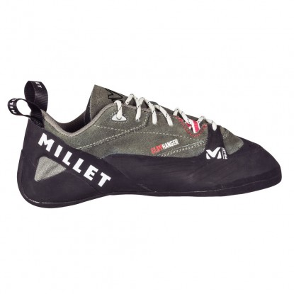 Climbing shoes Millet Cliffhanger lace rouge/charcoal