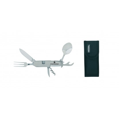 Įrankiai Ferrino Knife with Cutlery Set