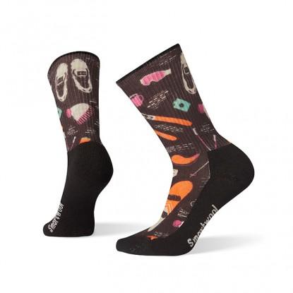 Smartwool Women's Hike Light Hut Trip Print Crew Socks