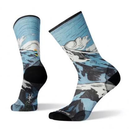 Smartwool Men's Curated Mt Marauder Crew Socks