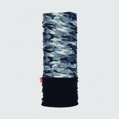 WDX Polarwind camouflage black neck gaiter