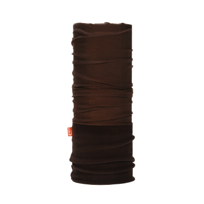 WDX Polarwind brown neck gaiter