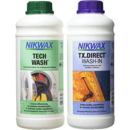 Skalbiklių rinkinys Nikwax Combo Tech Wash/ TX.Direct