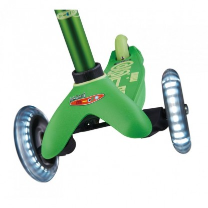 Paspirtukas Mini Micro Deluxe green LED