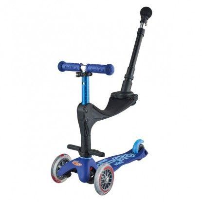 Paspirtukas Mini Micro 3in1Deluxe Plus blue