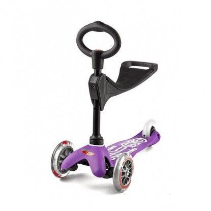 Paspirtukas Mini Micro 3in1Deluxe violet
