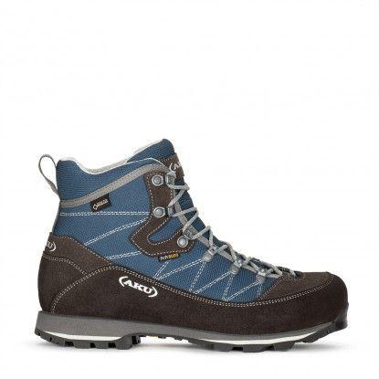 AKU Trekker Lite III Wide GTX trekking boots 977W - 690 Denim-Grey