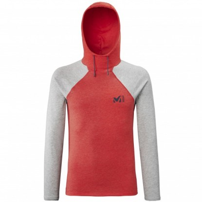 Bluzonas Millet Red Wall Light Hoodie