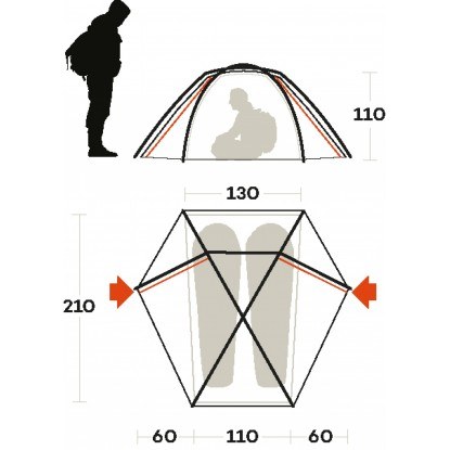 Ferrino Force 2 FR tent