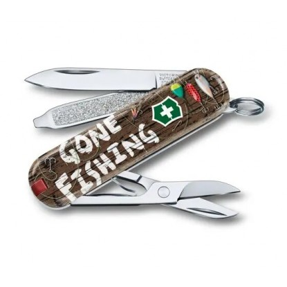 Knife Victorinox Classic Gone Fishing