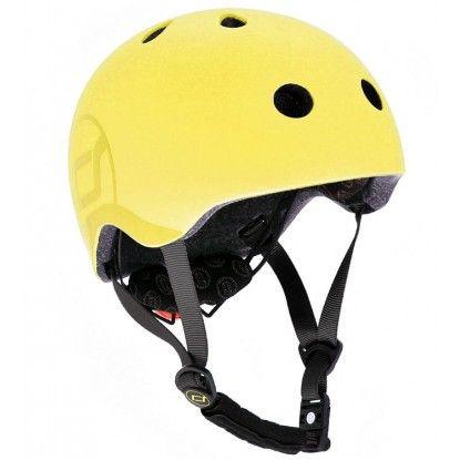 Šalmas Scoot and Ride Safety helmet lemon