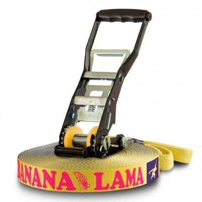 Slackline Gibbon Banana Lama TreeWear Set 15m/3.5cm