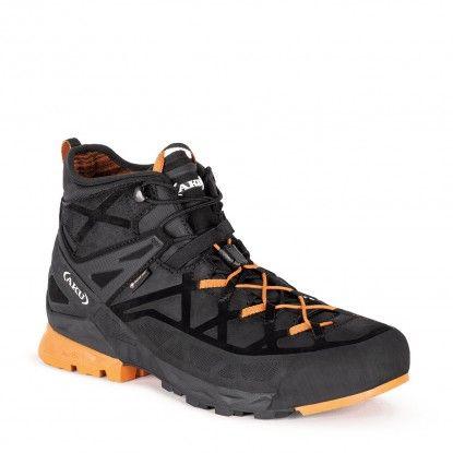 AKU Rock DFS Mid GTX boots 718 - 108 Black-Orange