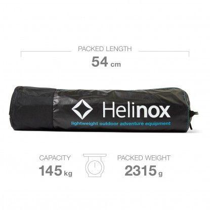 Sudedama lova Helinox Cot One Convertible long