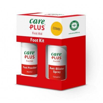Keliautojo rinkinys CarePlus Foot Kit