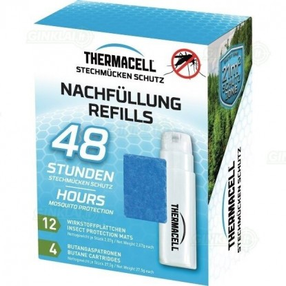 Thermacell papildymo paketas 48h