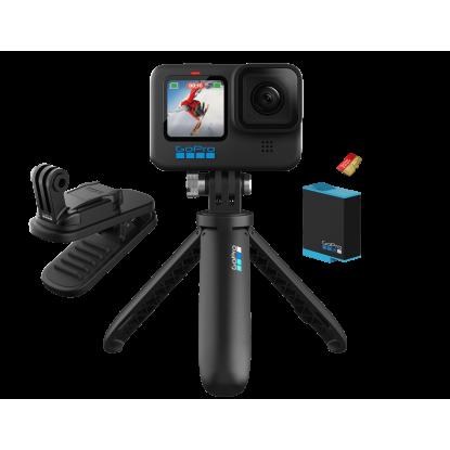 Kamera GoPro HERO 10 Black+aksesuarai