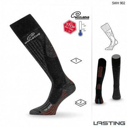 Slidinėjimo kojinės Lasting SWH 902