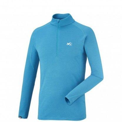 Termo marškinėliai Millet C Wool Blend 200 ZIP LS