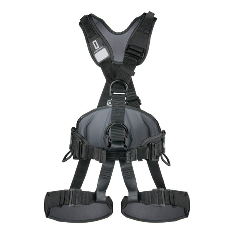 Apraišai Singing Rock Profi Worker 3D standard black
