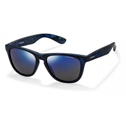 Polaroid P 8443 matte blue sunglasses