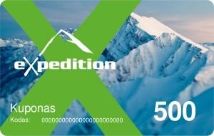 Expedition dovanų kuponas